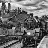 Steam at Corfe