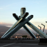 Vancouver Winter Olympic  Flame 2010